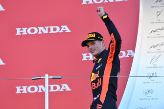 Third place Max Verstappen, Red Bull Racing, on the podium