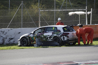 Crash of Klim Gavrilov, LTA Rally Volkswagen Golf GTI TCR