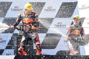 2. Deniz Öncü, Red Bull KTM Tech 3, 3. Ayumu Sasaki, Red Bull KTM Tech 3