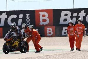 Sturz: Sam Lowes, Marc VDS Racing Team