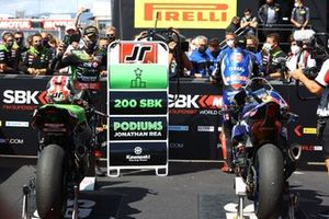 Jonathan Rea, Kawasaki Racing Team celebra sus 200 podios en WorldSBK