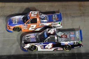 Sheldon Creed, GMS Racing, Chevrolet Silverado Liftkits4less.com, John Hunter Nemechek, Kyle Busch Motorsports, Toyota Tundra Mobil 1