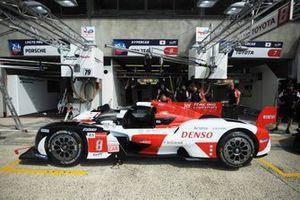 #8 Toyota Gazoo Racing Toyota GR010 - Hybrid Hypercar de Sébastien Buemi, Kazuki Nakajima, Brendon Hartley