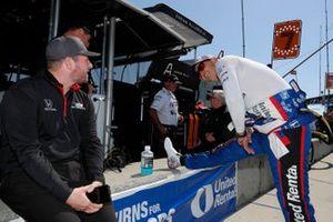 Graham Rahal, Rahal Letterman Lanigan Racing Honda, crew members