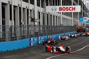 Rene Rast, Audi Sport ABT Schaeffler, Audi e-tron FE07, Sebastien Buemi, Nissan e.Dams, Nissan IMO3, Joel Eriksson, Dragon Penske Autosport, Penske EV-5