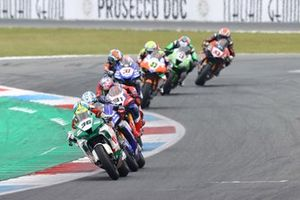 Leandro Mercado, MIE Racing Honda Team, Garrett Gerloff, GRT Yamaha WorldSBK Team