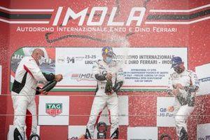 Il podio di Gara1