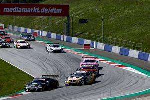 Kelvin van der Linde, Abt Sportsline Audi R8 LMS GT3, Timo Glock, ROWE Racing, BMW M6 GT3