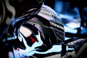 Lewis Hamilton, Mercedes W12 helmet