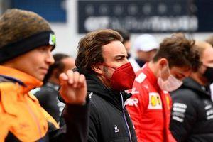 Fernando Alonso, Alpine F1, op de grid
