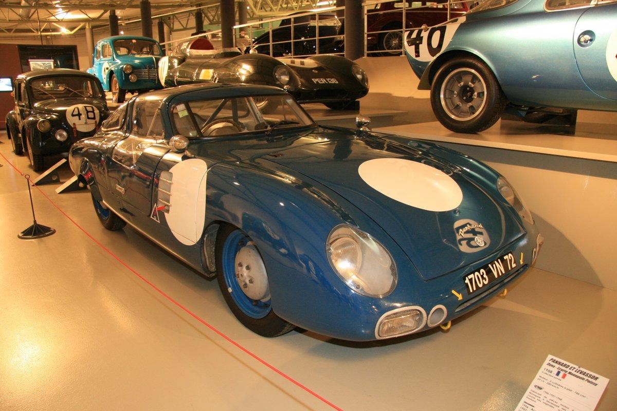 1958年:パナール・エト・ルヴァッサ・ダイナ(Panhard et Levassor Dyna - Ecurie Monopole Poissy)