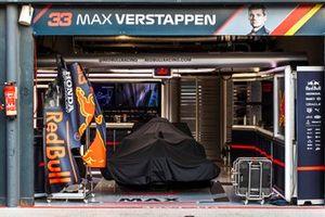 Pitbox Max Verstappen, Red Bull Racing