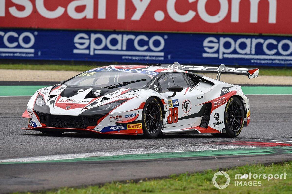 #88 LP Racing, Lamborghini Huracan GT3 Evo: Pietro Perolini, Jonathan Cecotto