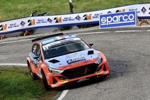 Andrea Crugnola, Pietro Ometto, Hyundai Rally Team Italia, Movisport, Friulmotor, Hyundai i20 N Rally2