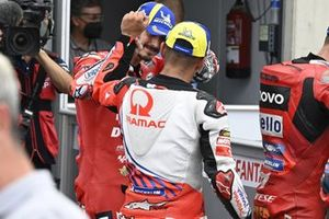 Polesitter Francesco Bagnaia, Ducati Team, mit Jorge Martin, Pramac Racing