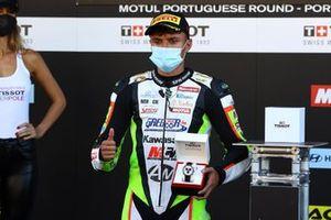 Polesitter Adrian Huertas, MTM Kawasaki