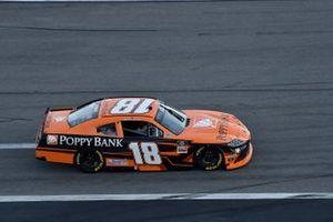 Daniel Hemric, Joe Gibbs Racing, Toyota Supra Poppy Bank roll on the grid