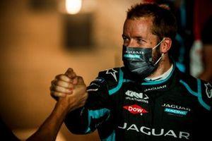 Sam Bird, Panasonic Jaguar Racing festeggia la vittoria