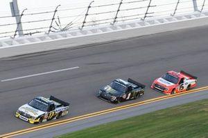 David Gilliland, David Gilliland Racing, Ford F-150 Black's Tire, Hailie Deegan, Team DGR, Ford F-150 Monster Energy, Tanner Gray, Team DGR, Ford F-150 Ford Performance