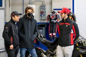 Johann Zarco, Pramac Racing, Luca Marini, Esponsorama Racing, Francesco Bagnaia, Ducati Team