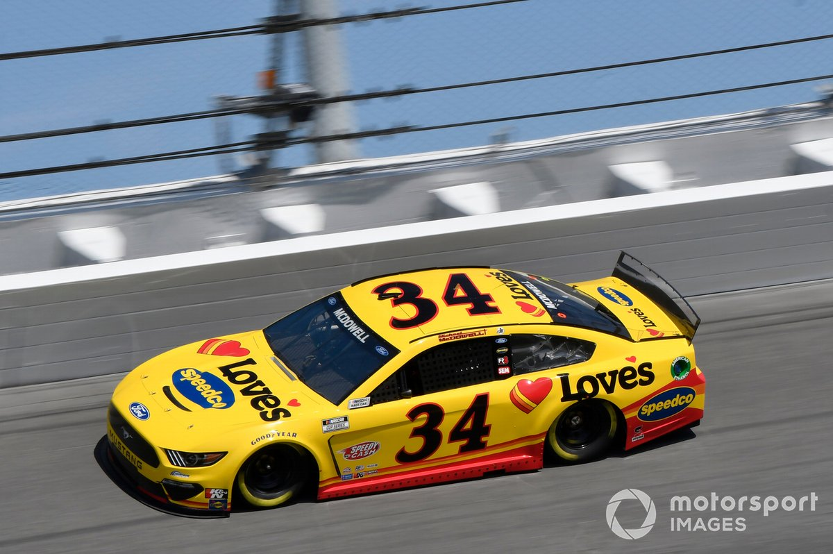 17. Michael McDowell, Front Row Motorsports, Ford Mustang