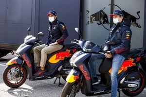 Max Verstappen, Red Bull Racing en Sergio Perez, Red Bull Racing