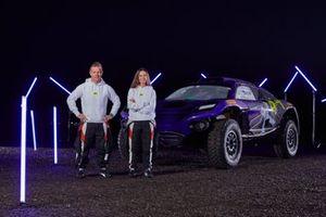 Sébastien Loeb, Cristina Gutiérrez, Team X44