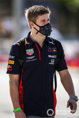 Jüri Vips, Red Bull Racing reserve driver