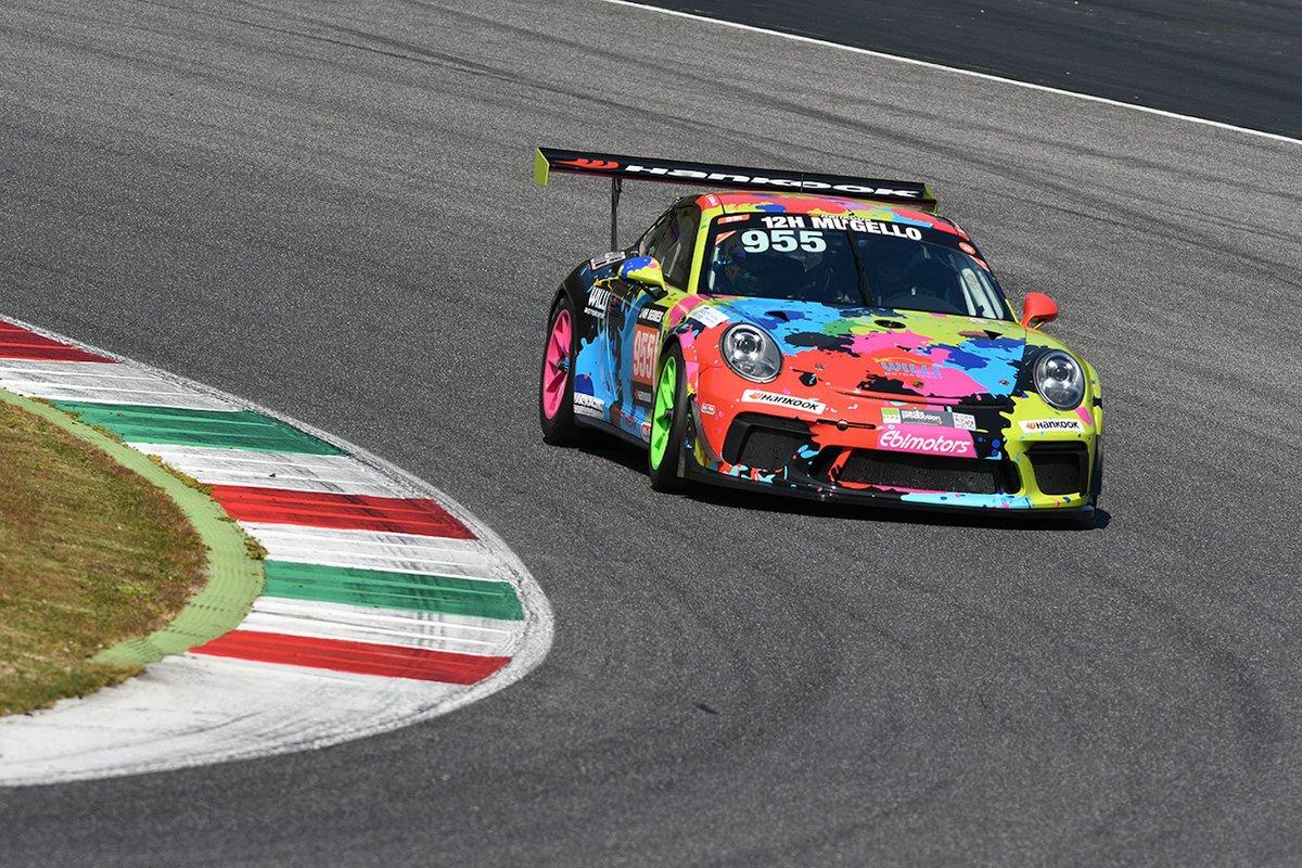 #955 Willi Motorsport by Ebimotors: Fabrizio Broggi, Sergiu Nicolae, Sabino de Castro, Porsche 991-II Cup