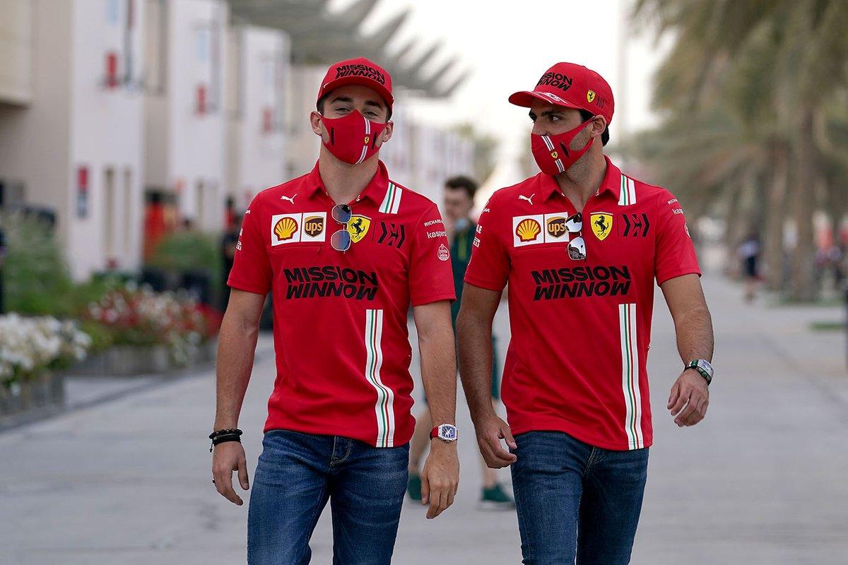 Charles Leclerc, Ferrari, Carlos Sainz Jr., Ferrari