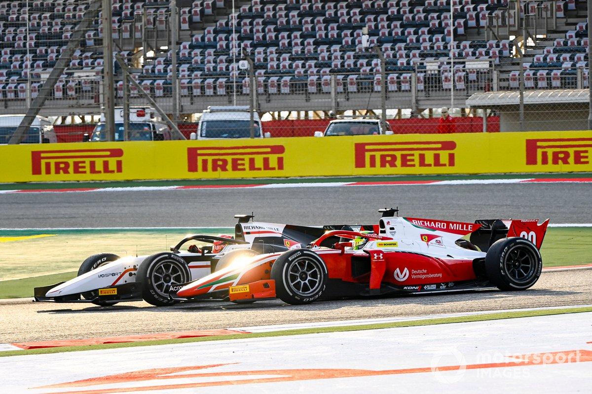Marcus Armstrong, ART Grand Prix e Mick Schumacher, Prema Racing