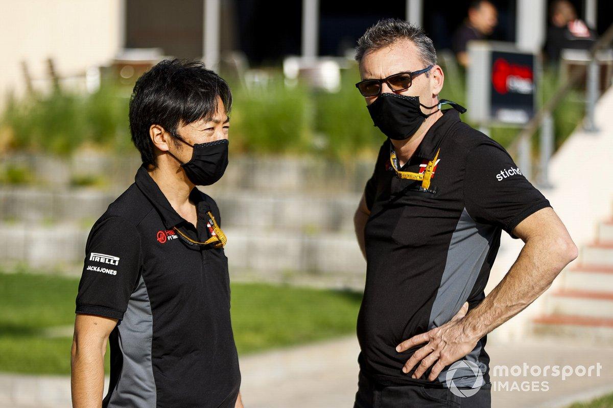Ayao Komatsu, ingeniero jefe de carrera de Haas F1
