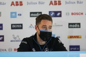 Stoffel Vandoorne, Mercedes Benz EQ, in the press conference