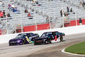 Cody Ware, SS Green Light Racing, Chevrolet Camaro Nurtec ODT, Matt Mills, B.J. McLeod Motorsports, Toyota Supra J.F. Electric