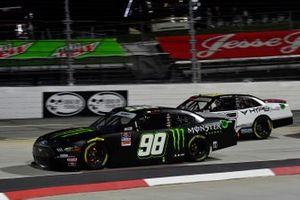 Riley Herbst, Stewart-Haas Racing, Ford Mustang Monster Energy, A.J. Allmendinger, Kaulig Racing, Chevrolet Camaro Ellsworth Advisors