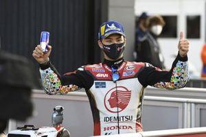 Third place Takaaki Nakagami, Team LCR Honda
