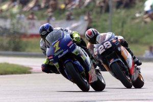 Kenny Roberts Jr., Team Suzuki MotoGP y Alex Criville, Repsol Honda Team