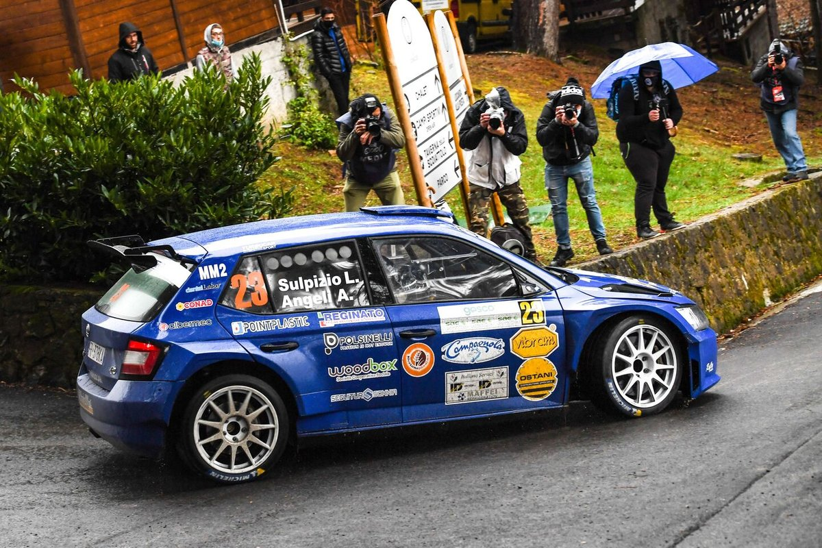 Liberato Sulpizio, Alessio Angeli, Rally Team, Skoda Fabia Rally2 Evo