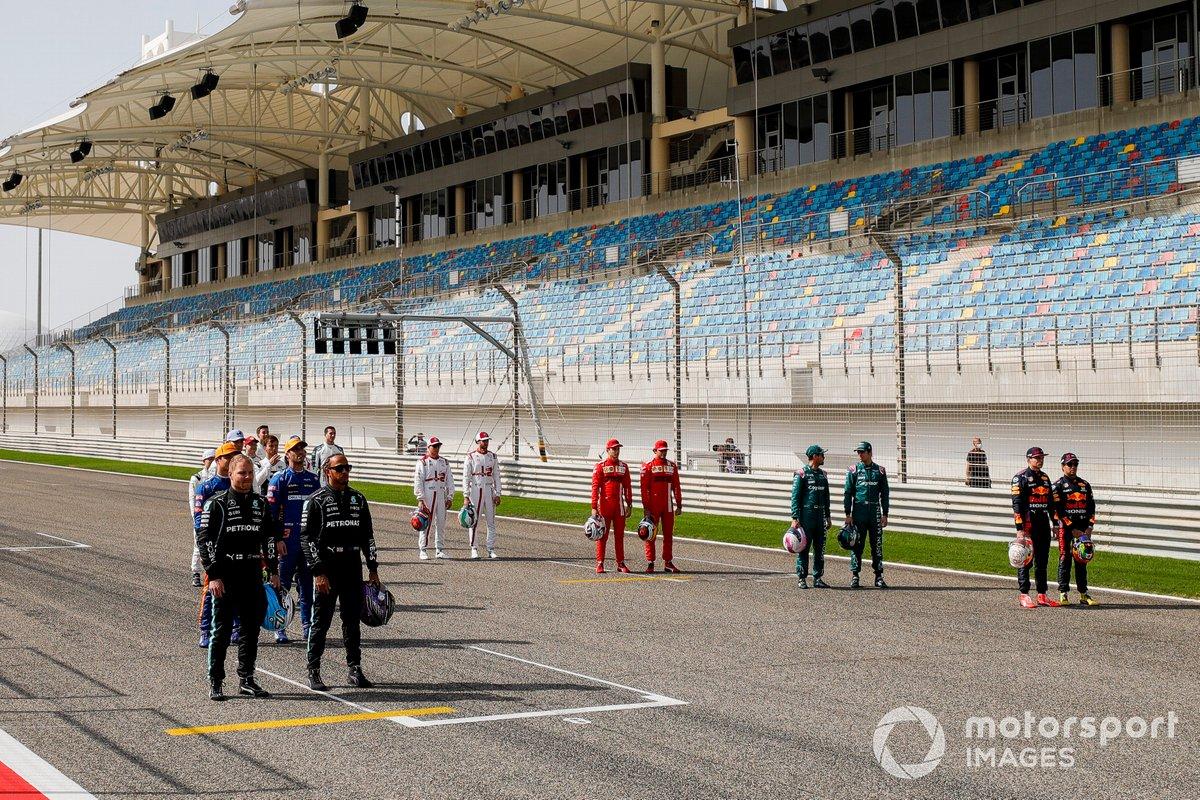 Todos los pilotos de la F1 2021