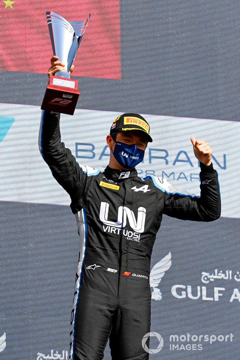 El ganador: Guanyu Zhou, Uni-Virtuosi Racing