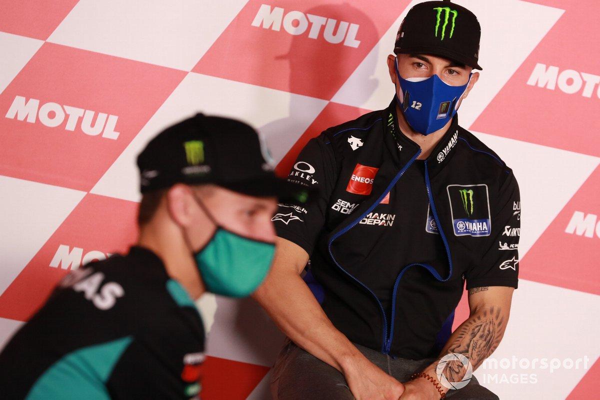 Fabio Quartararo, Petronas Yamaha SRT Maverick Viñales, Yamaha Factory Racing