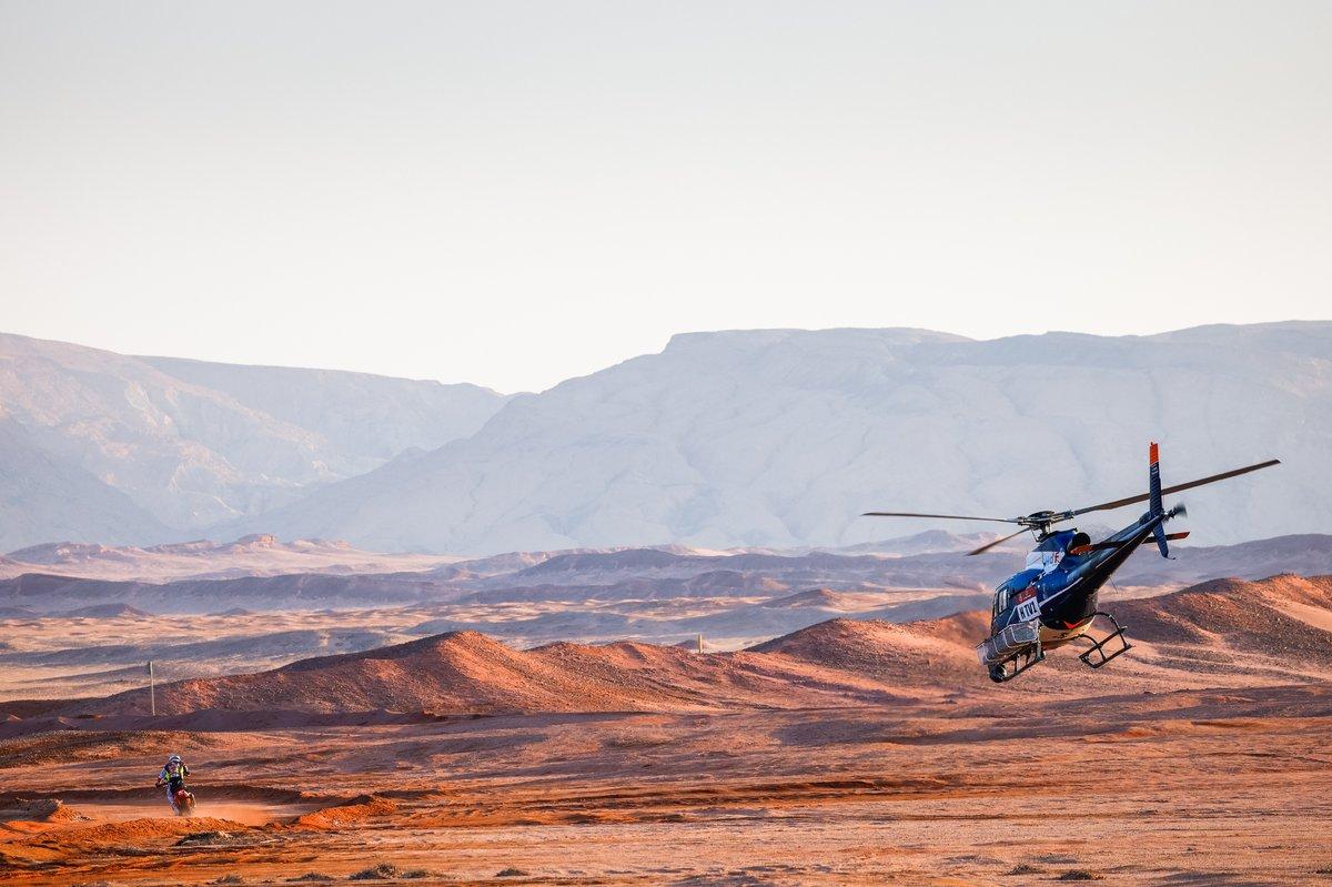 Ambiente de la etapa 9 del Dakar 2021