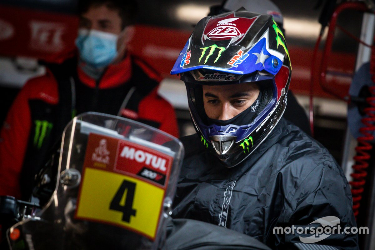 #4 Monster Energy Honda Team: Jose Ignacio Cornejo Florimo