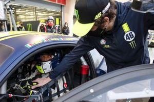 #46 Kessel Racing Monster VR46, Ferrari 488 GT3: Valentino Rossi, Luca Marini