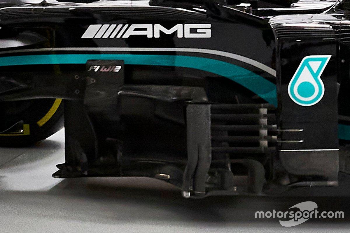 Mercedes AMG F1 W12 detail