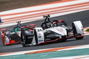 Andre Lotterer, Tag Heuer Porsche, Porsche 99X Electric, Lucas Di Grassi, Audi Sport ABT Schaeffler, Audi e-tron FE07