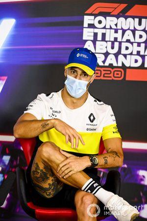 Daniel Ricciardo, Renault F1, en conferencia de prensa