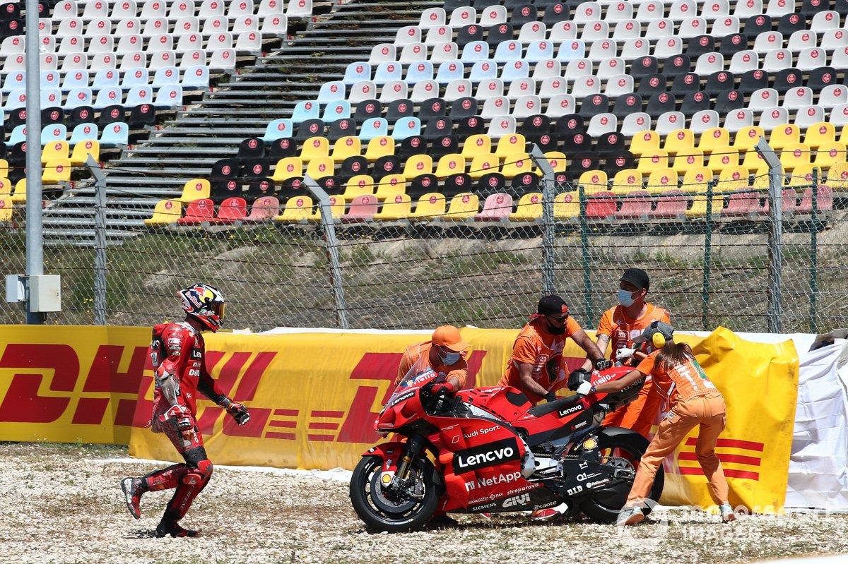Caída de Jack Miller, Ducati Team
