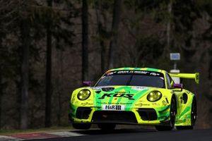 #911 Manthey Racing Porsche 911 GT3 R: Michael Christensen, Kevin Estre, Lars Kern