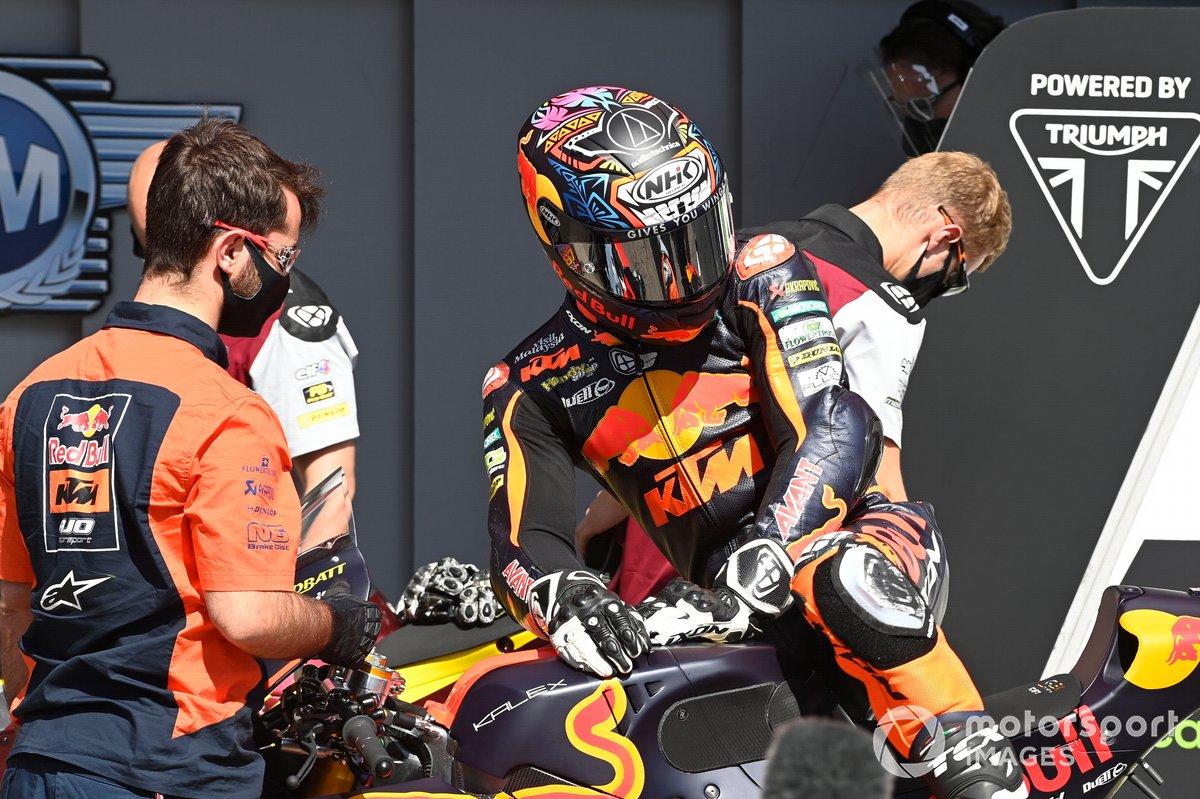 Remy Gardner, Red Bull KTM Ajo parc ferme